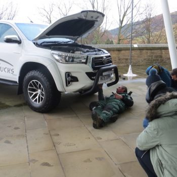 World Extreme Medicine Exped vehicle workshops